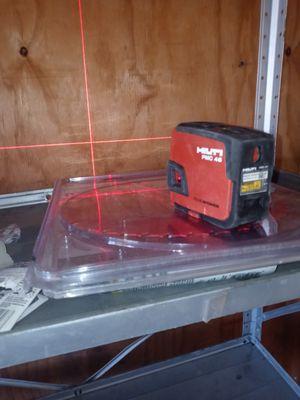 Hilti laser. Buenas condicciones for Sale in Bell Gardens, CA