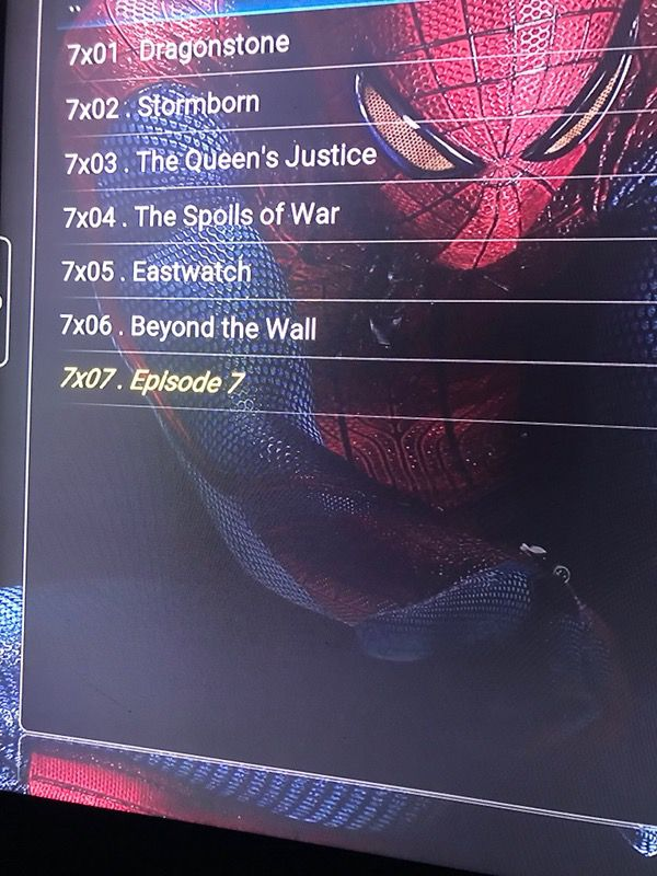 Jailbroken amazon firestick with kodi
