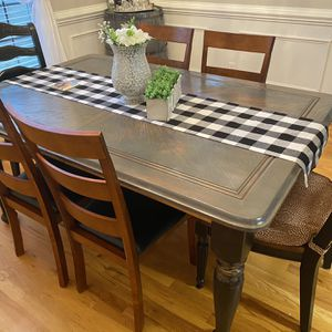 Table and Chairs With Custom Cushions for Sale in Garner, NC