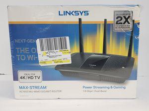 Brand New Linksys Max- Stream AC1900 (Bruised Box) MU-MIMO GIGABIT ROUTER EA7500 for Sale in Miami, FL