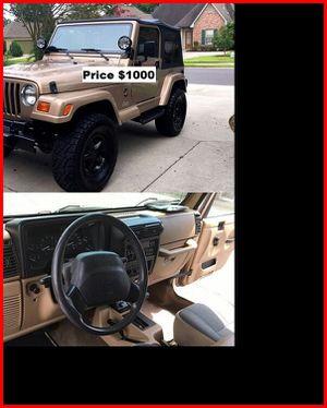 ֆ1OOO_1999 Jeep Wrengler for Sale in San Bernardino, CA