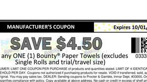 Bounty last 6 for Sale in Jena, LA