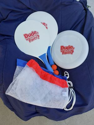 Paddle Ball Frisbee Set for Sale in Orange, CA
