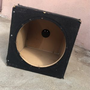 12' Subwoofer Box for Sale in Carson, CA