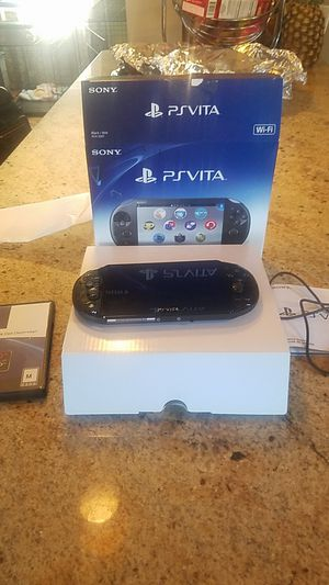 Psvita game console for Sale in East Haven, CT