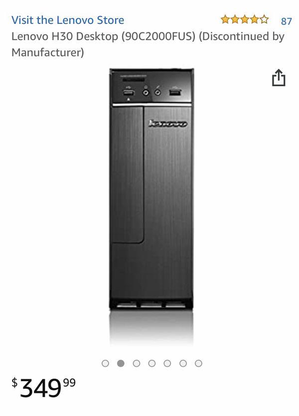 Lenovo H30 desktop computer only $250