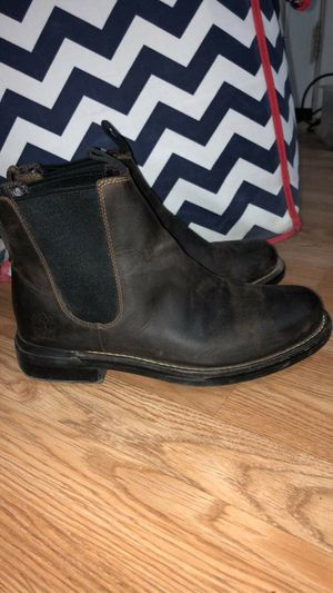 Sz.8 mens timberland boots for Sale in San Angelo, TX