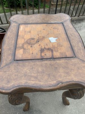 Antique Chess table for Sale in Atlanta, GA