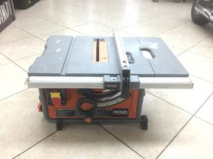 Ridgid 15 Amp Corded 10 in. Compact Table Saw - R4517 for Sale in Parkland, FL