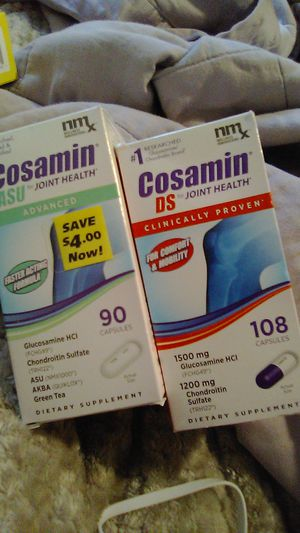 Cosamin ASU advanced and cosamin DS for joint health for Sale in Seattle, WA