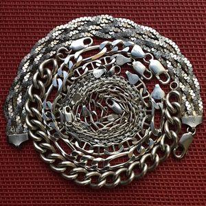 Lot Of Sterling Silver bracelets, .925, 7 Bracelets for Sale in Hilliard, OH