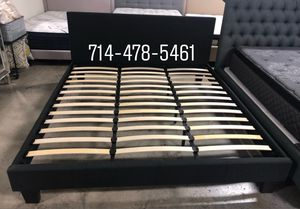 BLACK Cal King BED FRAME for Sale in San Diego, CA