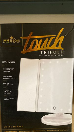Impressions vanity touch trifold mirror makeup for Sale in Fullerton, CA