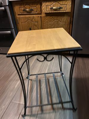 Longaberger Wrought Iron Table - $85 (price reduced!) for Sale in Willow Springs, IL