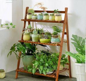 Flower Pot Shelf Storage Garden Lawn Display Stand Bathroom Organizer for Sale in Sarasota, FL