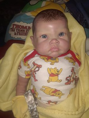 Reborn baby boy doll for Sale in Fowler, CA