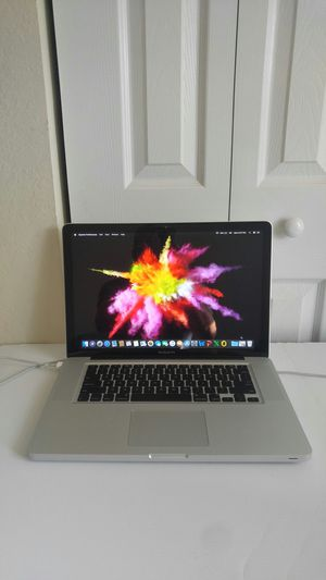 🌋 Apple MacBookPro, 15.4 inchs. / Intel Core i5 / very good condition / 500 GB Hdd / 06 GB Ram / macOS High Sierra / year 2010 for Sale in Homestead, FL