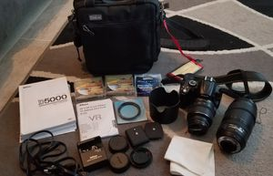 Nikon d5000 digital camera for Sale in Andover, OH