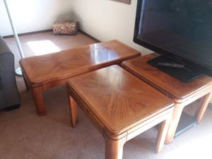 Coffee and end tables for Sale in Gresham, OR