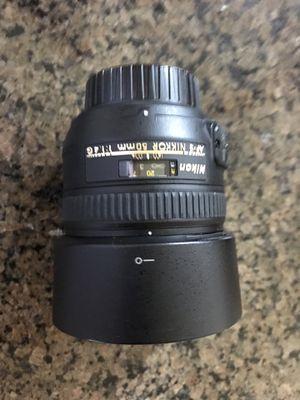 AFS Nikkor 50mm 1.4 G lens for Sale in Virginia Beach, VA