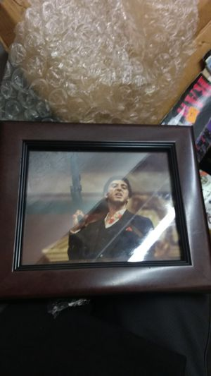 Scarface picture and frame for Sale in Las Vegas, NV