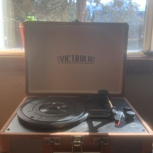 Victorla Suitcase Record Player for Sale in Bend, OR