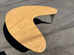Kidney Bean Surfboard Boomerang style Mid Century Styled COFFEE TABLE END TABLE ACCENT TABLE for Sale in Burbank, CA