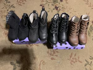 BRAND NEW Super Cute Toddler Girl Boots. Shoe Size 8. ALL for $65 for Sale in Chula Vista, CA