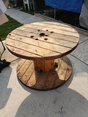 Wooden spool for Sale in Modesto, CA