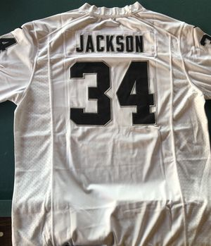 Raiders Bo Jackson Large Jersey for Sale in Fresno, CA