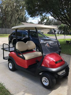 Club cart precedent, 2017 led lights, new batteries for Sale in Plant City, FL