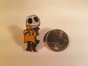 *SHIP ONLY* Nightmare Before Christmas Jack Skellington Hugging Oogie Boogie Hard Enamel Collectible Pin Badge for Sale in Phoenix, AZ