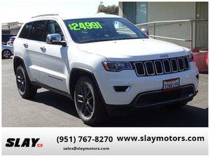 2017 Jeep Grand Cherokee for Sale in Calimesa, CA