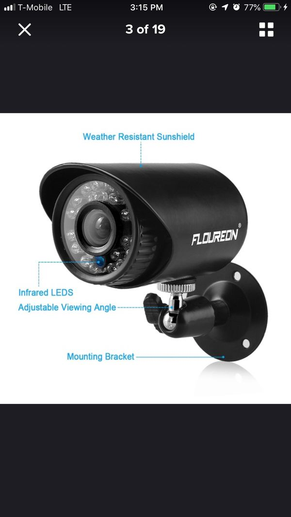 Security and spy cameras