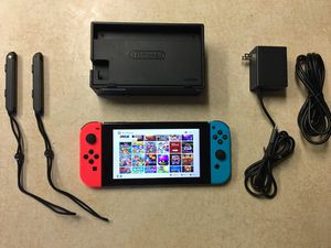 NINTENDO SWITCH with Over 3000 GAMES POKEMON,MARIO KART, SMASH BROS. MARIO PARTY, ZELDA and More for Sale in San Diego, CA