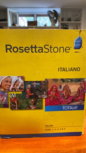 Rosetta Stone for Sale in Georgetown, MA