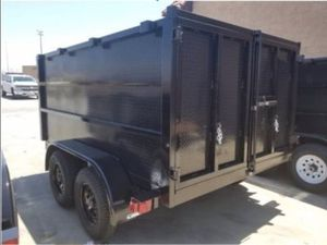 8 x 10 x 4 Dump Trailer w Tarp Kit for Sale in Sunnyvale, CA