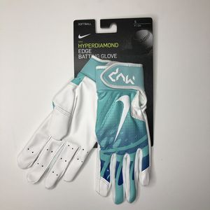 Nike HyperDiamond Edge Batting Gloves Softball for Sale in Long Beach, CA