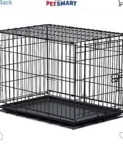 Wire Dog Crate And Play Pen W/crate Cushion for Sale in Chino,  CA