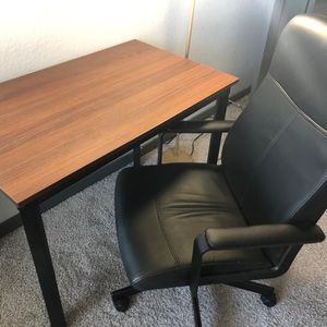 Office Setup Table And Chair for Sale in Chandler, AZ