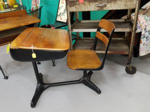 Antique Vintage school desk number 2 for Sale in Gulfport, FL