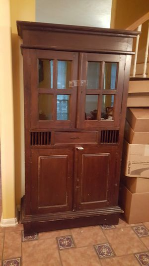 Antique Cabinet. for Sale in Katy, TX
