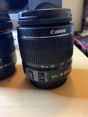 Canon 10-18 f4.5-5.6 Lens for Sale in CA, US