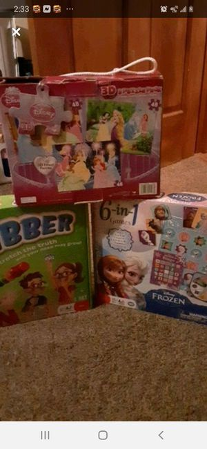 Board games and puzzle games for Sale in Pennsville, NJ