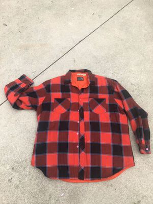 Red Plaid Button Up ( Pine Grove) for Sale in Claremont, CA