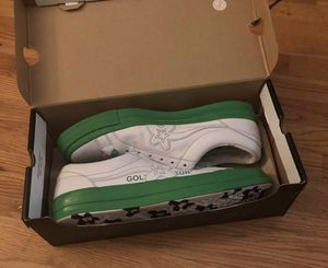 SIZE 12 Golf Le Fleur color block green converse for Sale in Mequon, WI