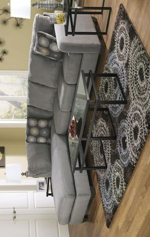 Mamario Charcoal LAF Sectional for Sale in Jessup, MD