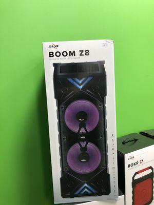 Zizo boom Z8 wireless LED speaker for Sale in Wytheville, VA