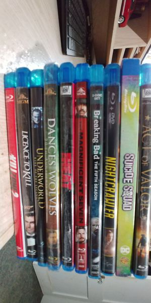 10 blu rays for $20 for Sale in Houston, TX