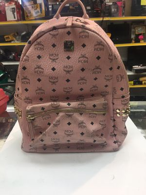 MCM studded backpack pink leather for Sale in Orlando, FL